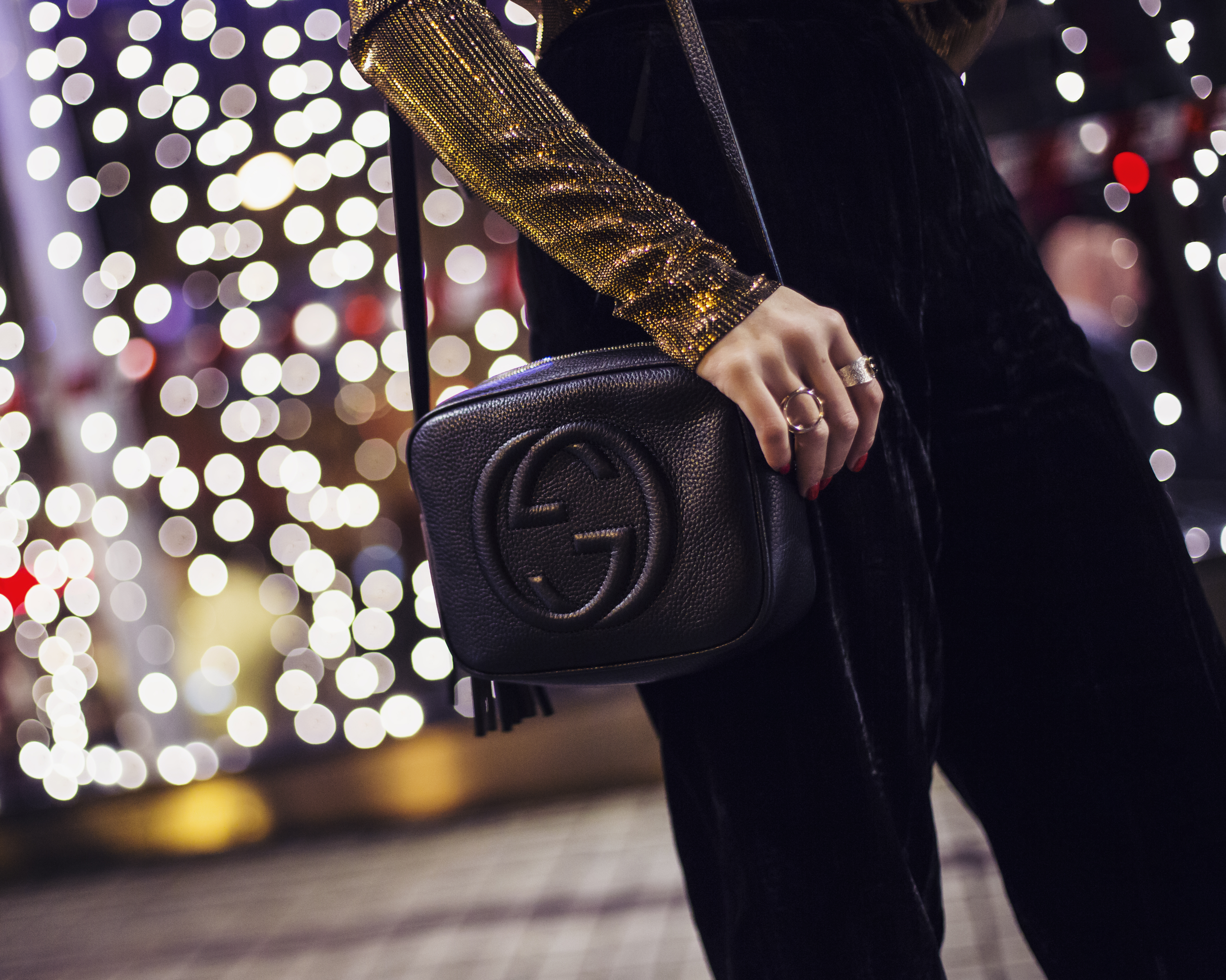 HOW TO STYLE THE GUCCI SOHO DISCO BAG
