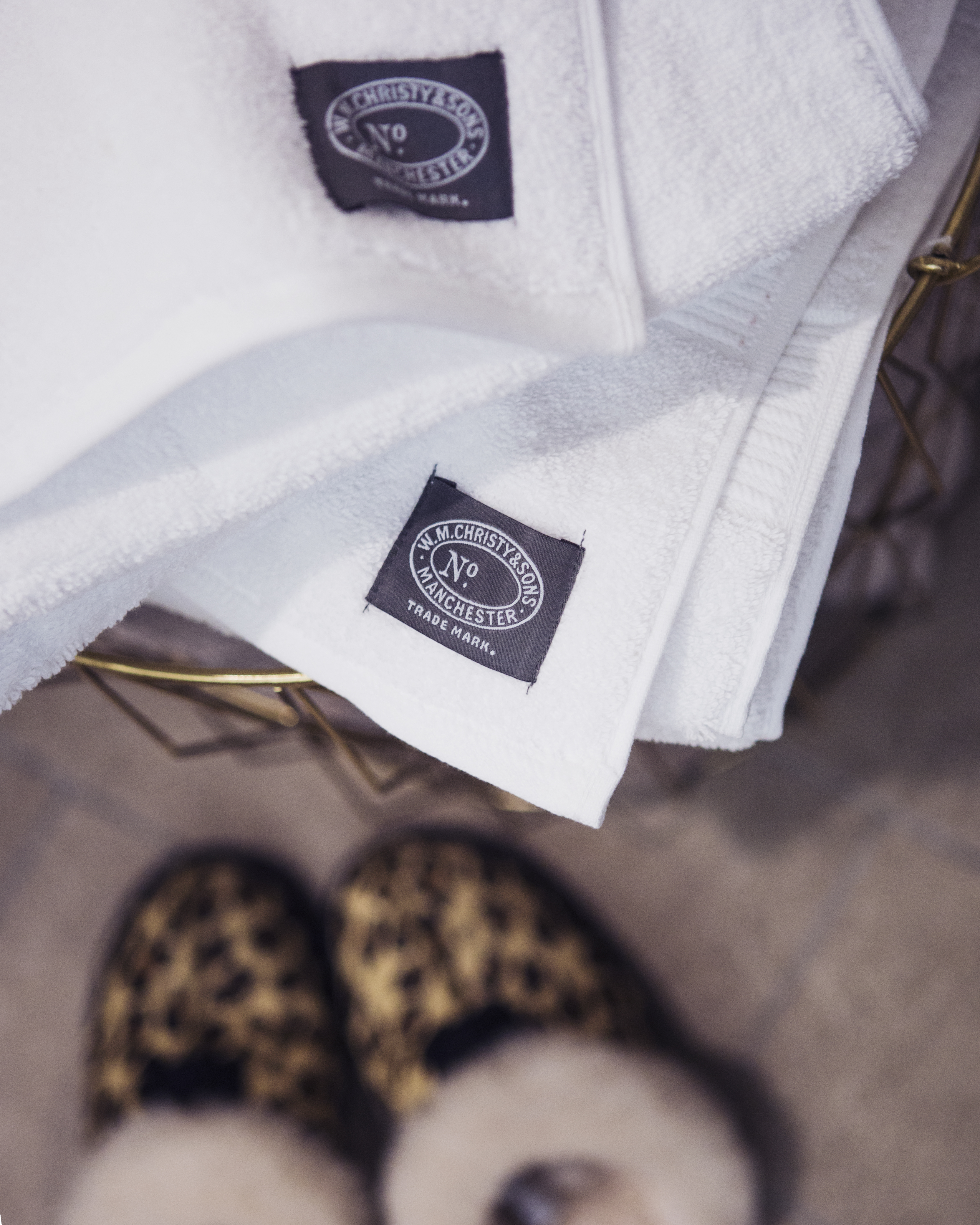 CHRISTY HYGRO TOWELS IN WHITE