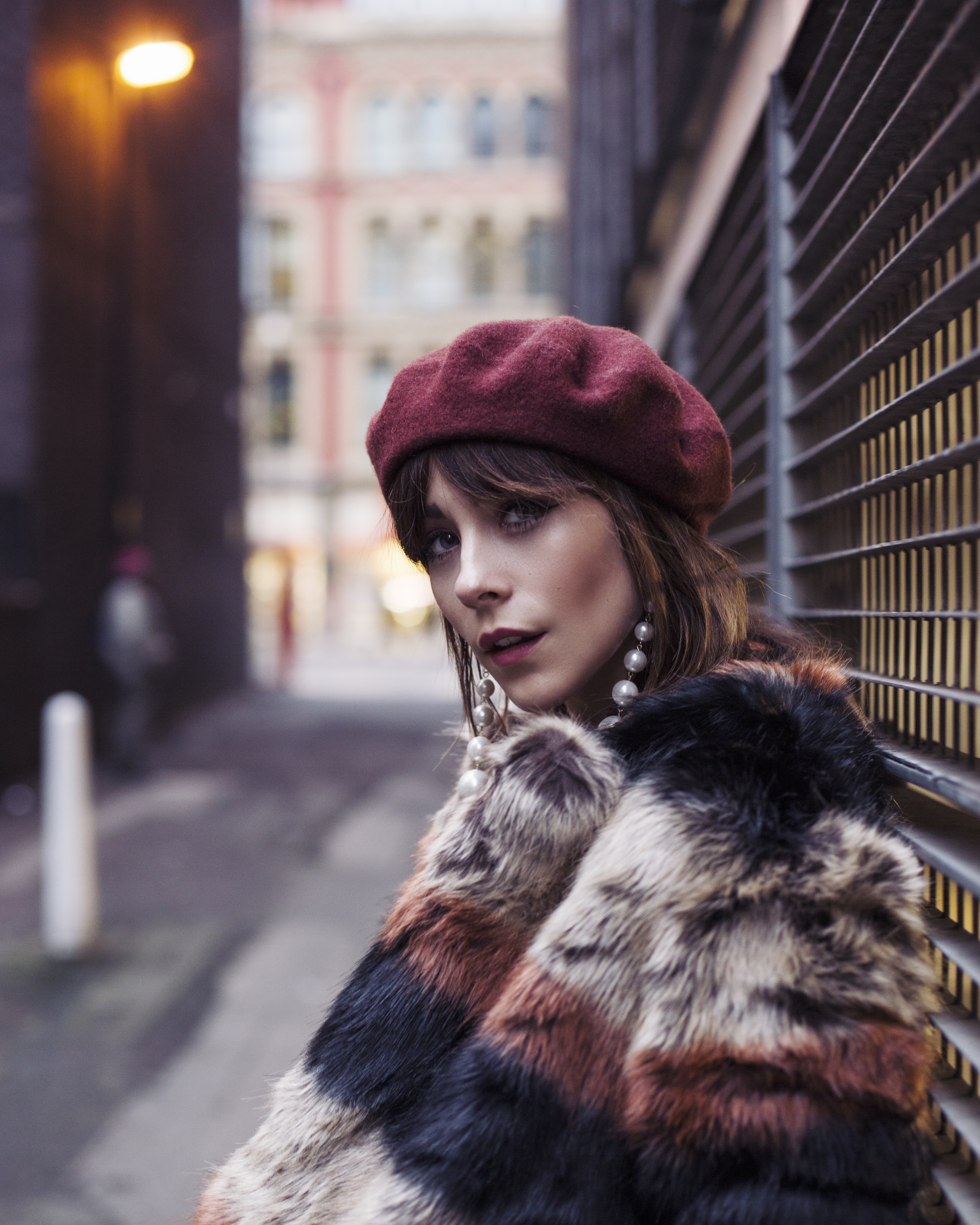MEGAN ELLABY IN MANCHESTER'S NORTHERN QUARTER