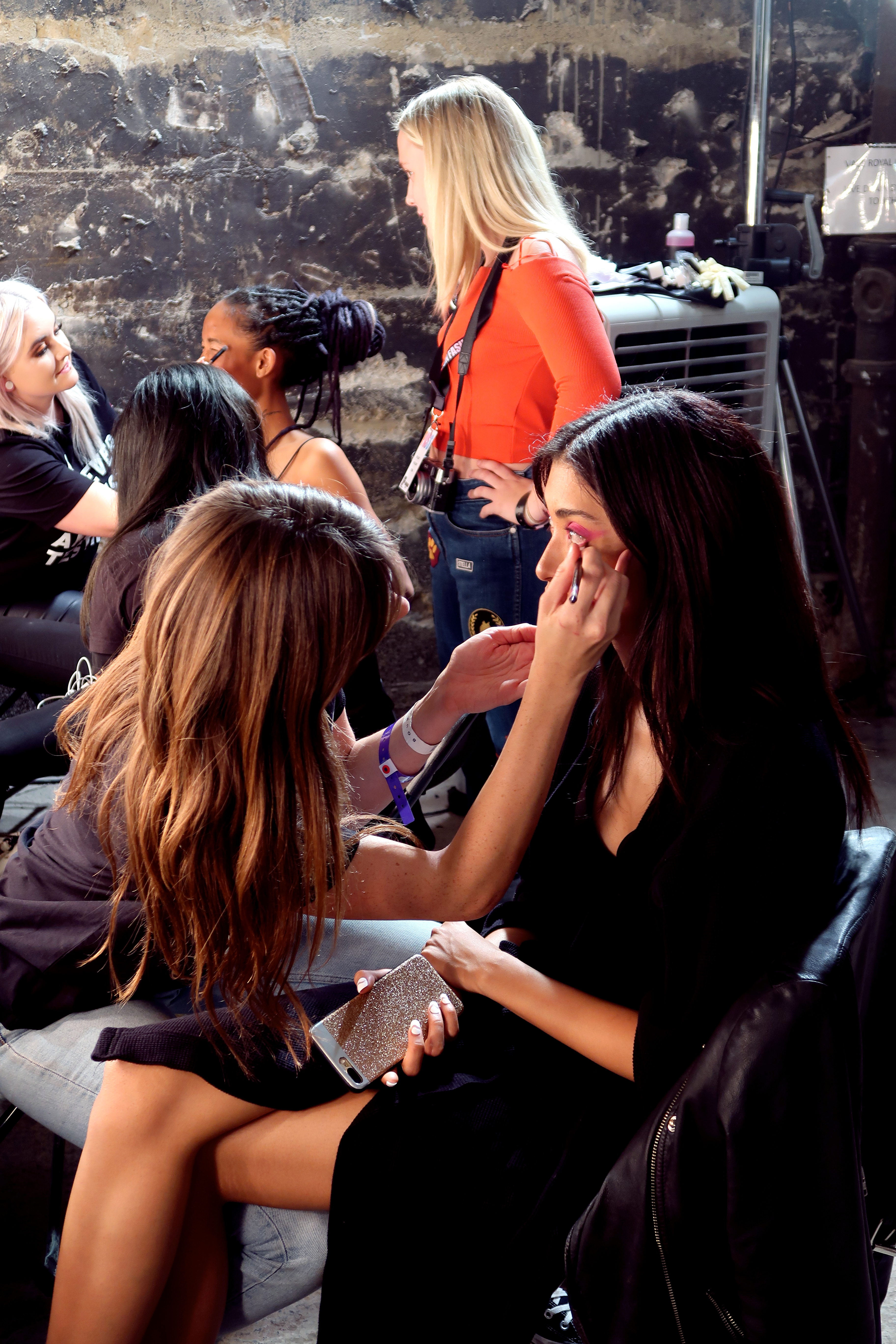 MEGAN ELLABY REVIEW OF MAKE UP BACKSTAGE AT HOUSE OF HOLLAND