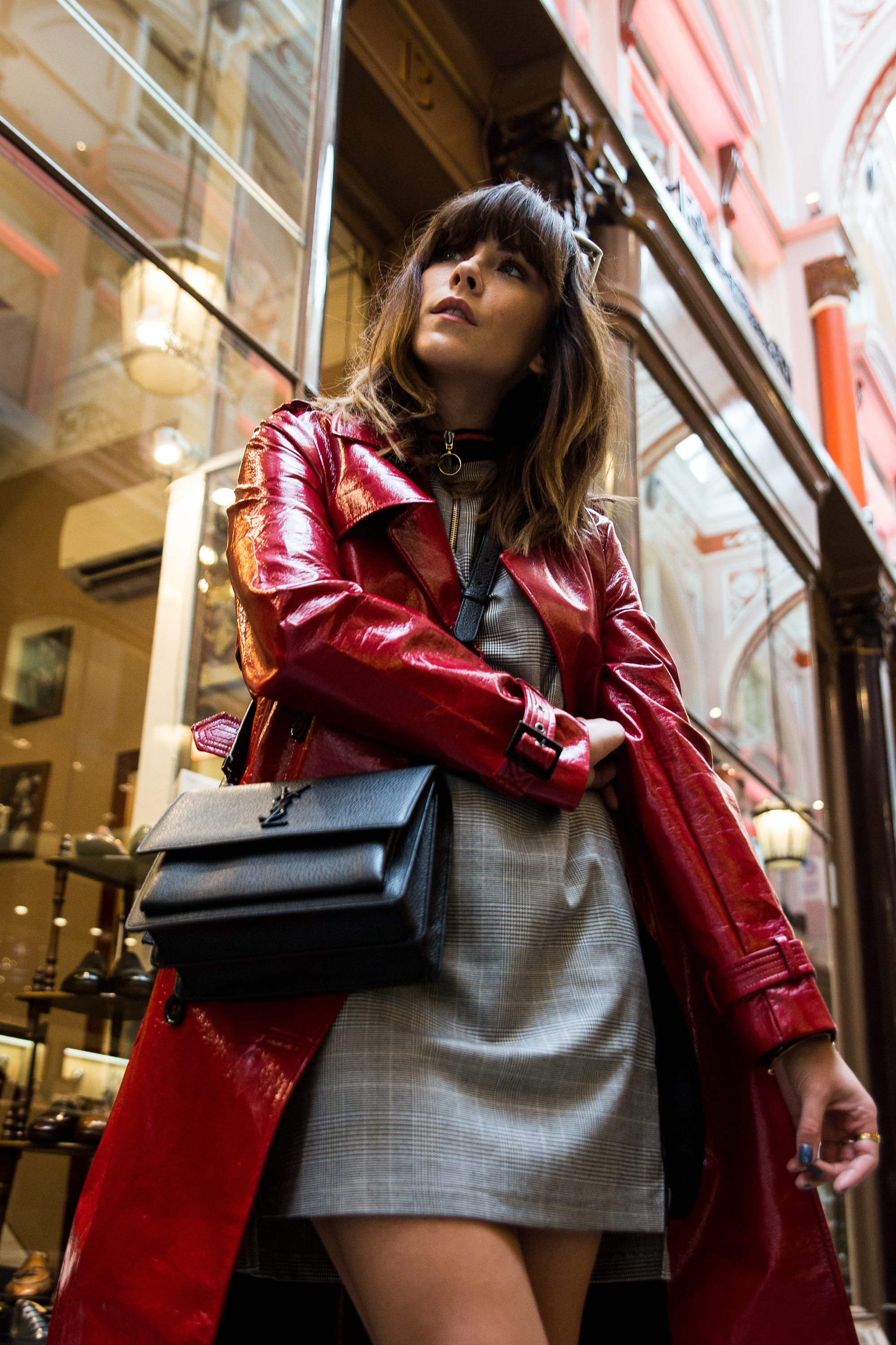 MEGAN ELLABY HOW TO WEAR A HIGH SHINE TRENCH COAT