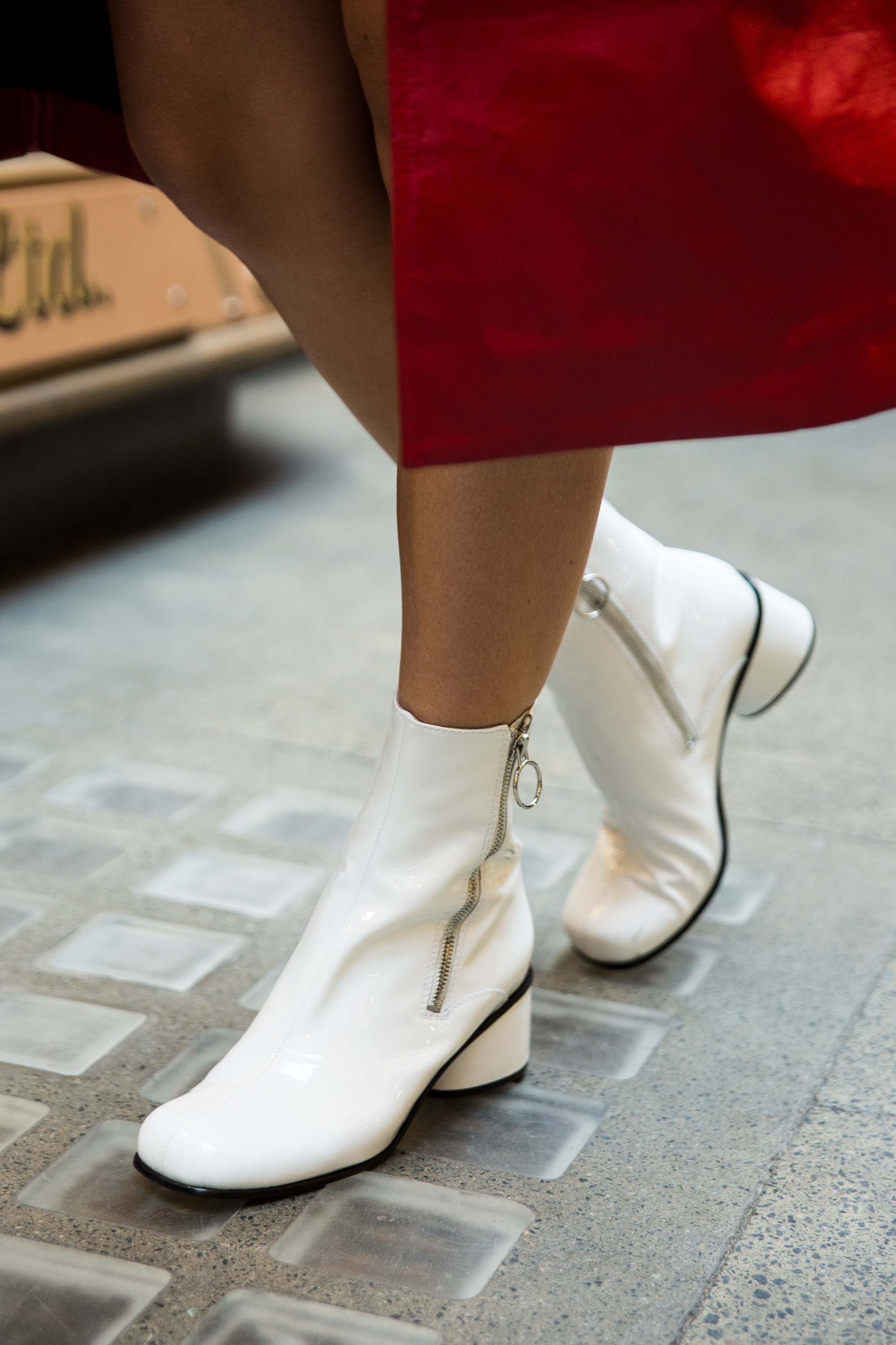 MEGAN ELLABY WEARS MARC JACOBS CRAWFORD BOOTS