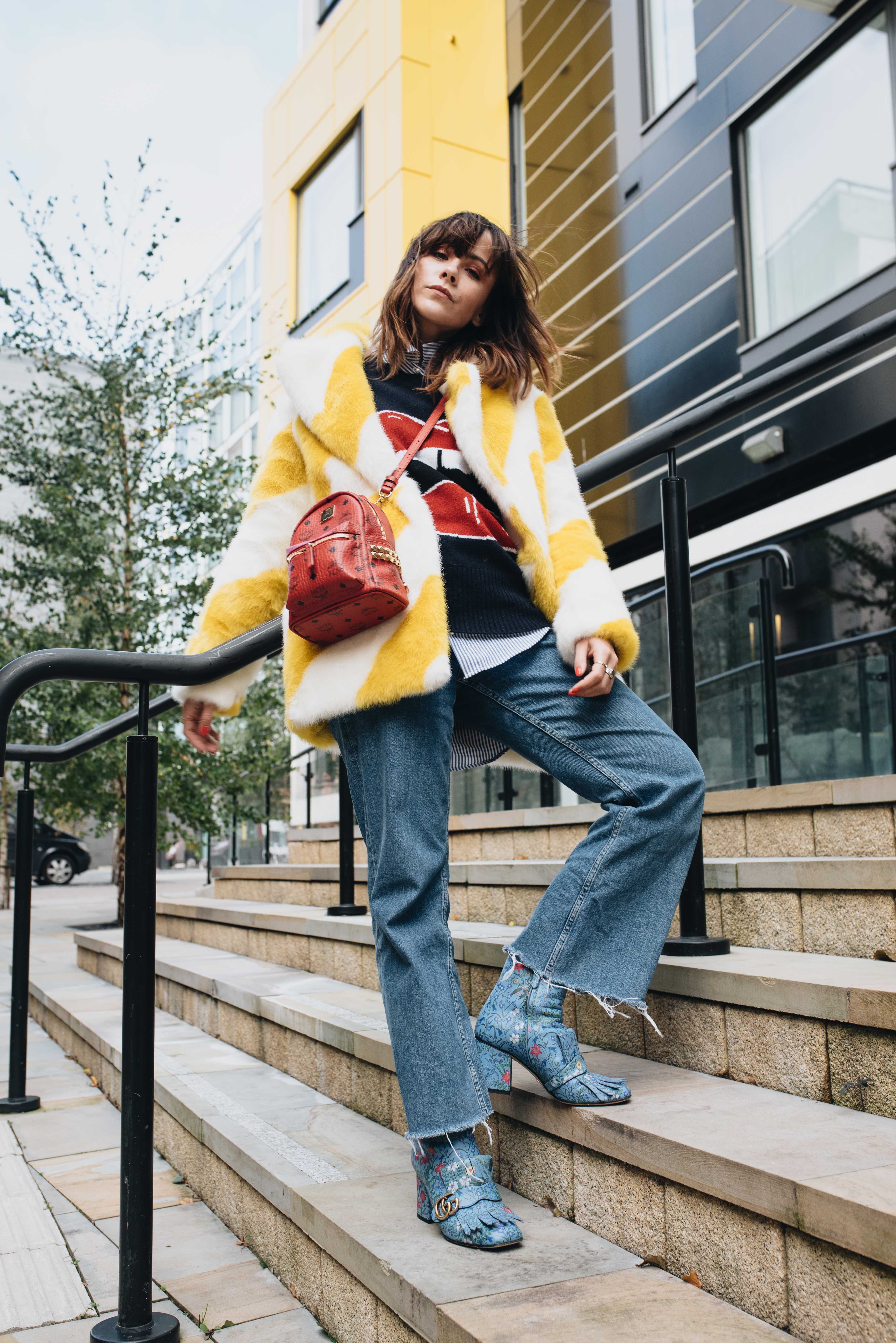 HOW TO BE BRAVE ENOUGH TO WEAR COLOURFUL FAUX FUR